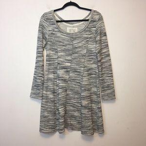 Anthro Saturday Sunday Gray Sweatshirt Dress